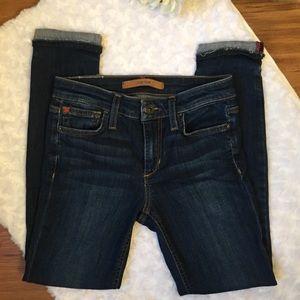 "Joe's Jeans ""The Markie Crop"" Skinny Crop Jeans"